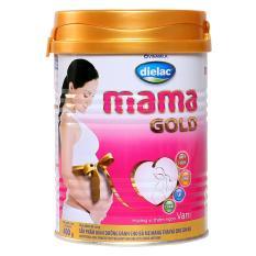 Sữa bột Vinamilk dielac mama gold 400gr, cho bà mẹ mang thai và cho con bú