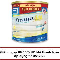 Sữa Ensure Gold hương vani 1.45kg