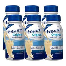 Sữa Ensure nước hương Vani Ensure Original 237ml - Combo 6 chai 237ml