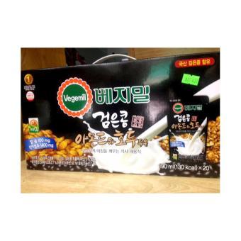 Sữa óc chó hạnh nhân Hàn quốc Vegemil xách 20 gói 190ml