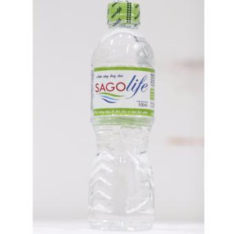 Thùng 24 chai Nước uống tinh khiết SaGoLife 500ml