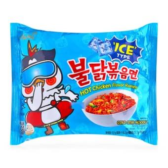 Thùng 25 Gói Mì Khô gà Cay Lạnh Samyang Hàn Quốc (140g x 25 gói)
