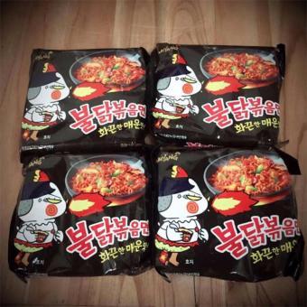 Thùng 25 gói mỳ siêu cay Sam Yang