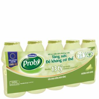 Thùng 50 Chai Sữa chua uống Probi Hương Dưa Gang 65ml