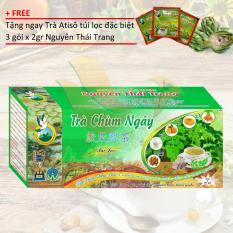 Nơi Bán TRÀ THẢO DƯỢC CHÙM NGÂY + tặng 3 gói Trà Atisô đặc biệt x 2gr- Nguyên Thái Trang