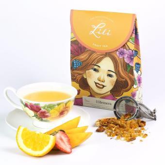 Trà trái cây Lili hương cam xoài - 50g