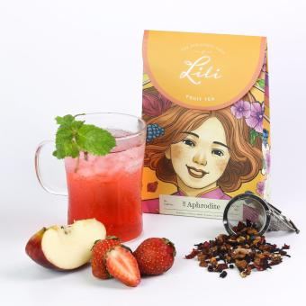 Trà trái cây Lili hương dâu tây - 50g