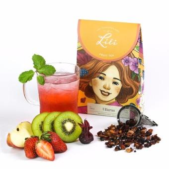 Trà trái cây Lili hương dâu tây Kiwi - 50g