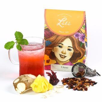 Trà trái cây Lili hương dứa dừa - 50g