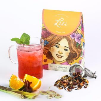 Trà trái cây Lili hương rượu vang Sangria - 50g