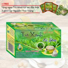 TRÀ XANH LÁ DỨA + Tặng 3 gói trà Atiso x 2gr – Nguyên Thái Trang