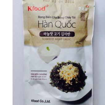 Túi Rong Biển Chà Bông Cháy Tỏi Hàn Quốc Ăn Liền, Không Cần Chế Biến, Ăn Ngon Với Cơm Nóng