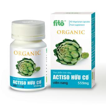 Viên nang Actiso hữu cơ 559mg (40 viên)