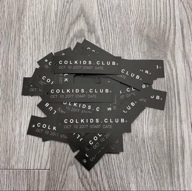 Bộ full TAG CARD CND colkids.club (3 TẤM CARD + GIẤY THƠM) 5
