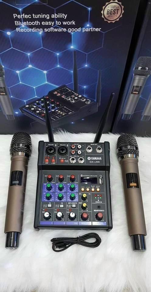 Bộ Mixer Yamaha G4-USB (Ảnh 4)