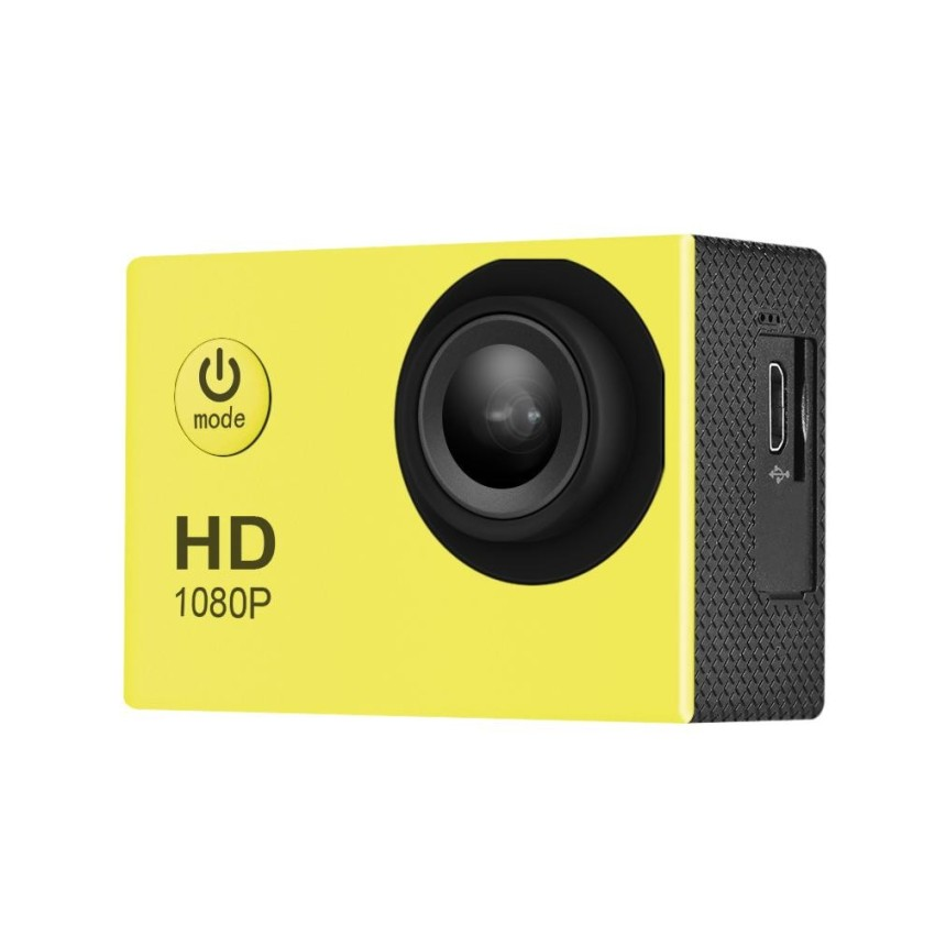 1080P Full HD 12MP Action Sports Camera 2inch LCD 140 Degree Lens 30m Waterproof Support 4X Zoom - intl
