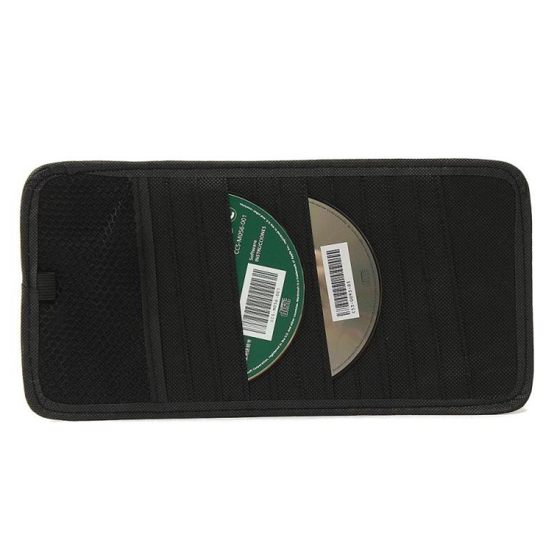 Bảng giá 12 Disc Capacity CD Car Sun Visor Storage Dvd Holder Black Pocket Case Organizer Phong Vũ