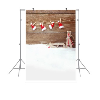 1.5 * 0.9m / 4.9 * 3.0ft Christmas Backdrop Photography Background for DSLR Camera Photo Studio Video - intl
