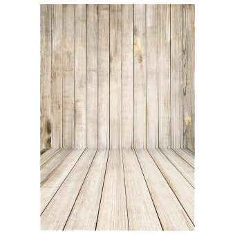 1.5x2.2M Retro Wood Floor Baby Photography Backdrop Photo Background Props - intl