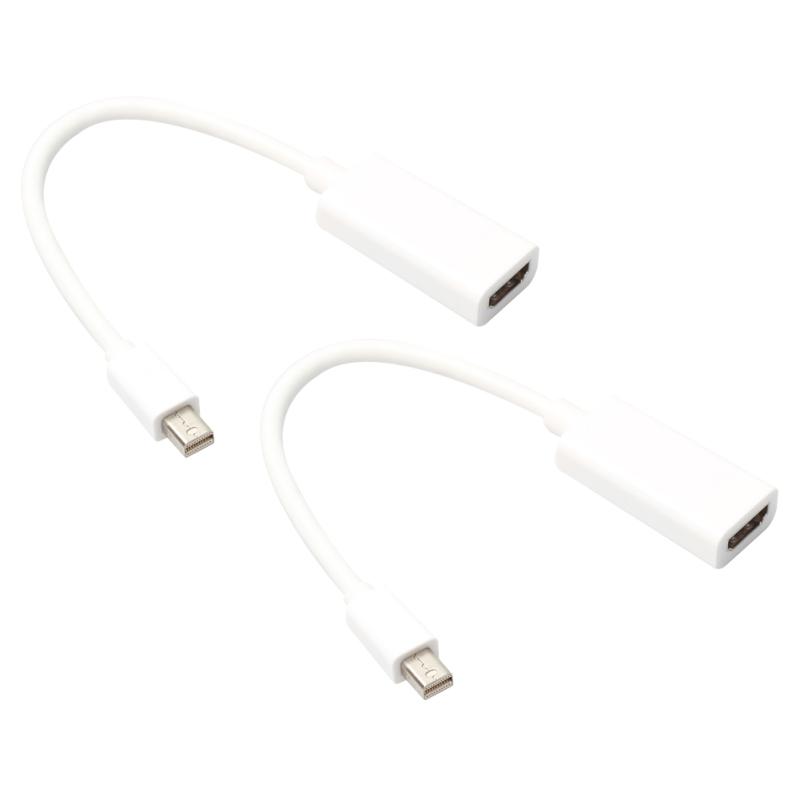 Bảng giá 2 Cáp Adapter Cổng hiển thị mini Thunderbolt DP 23.5cm Dành Cho Mac - Quốc tế Phong Vũ