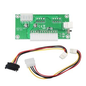 24Pins Benchtop Power Board Computer Power Supply Breakout ModuleAdapter - intl