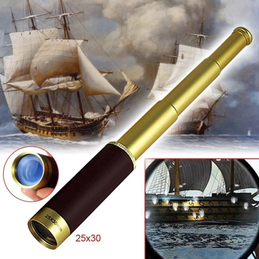 25X30 Scalable To stretch ZOOM Monoculars Pirate Telescopes - intl
