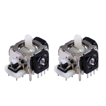 2PCS New-Replacement-3D-Joystick-for-Xbox-360-Wireless-ControllerWhite - intl