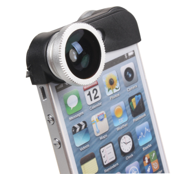 3-in-1 Z Shaped Camera Lens With Fish Eye Macro Wide Angle ForiPhone ...