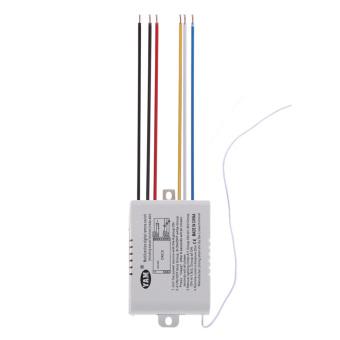 3 Way Port ON/OFF 220V Lamp Digital Wireless Remote Control Switch- intl