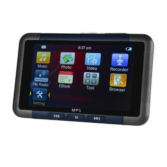 3.0�x9D Mirror Screen MP4 MP3 MP5 Player w/ TF. FM. 8GB - Black +Blue - intl
