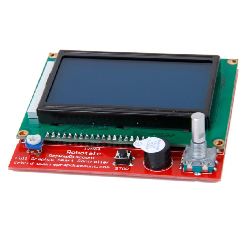 Hình ảnh 3D Printer RAMPS1.4 Intelligent Controller LCD 12864 Control Panel- Intl