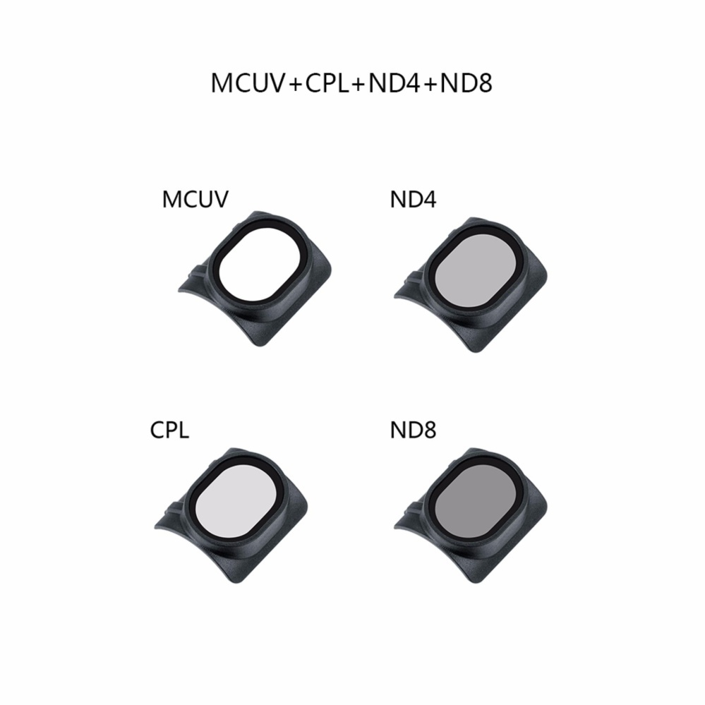 ... 4 In 1 Gimbal Camera HD Lens Filter For DJI SPARK RC DroneUV/CPL/ ...