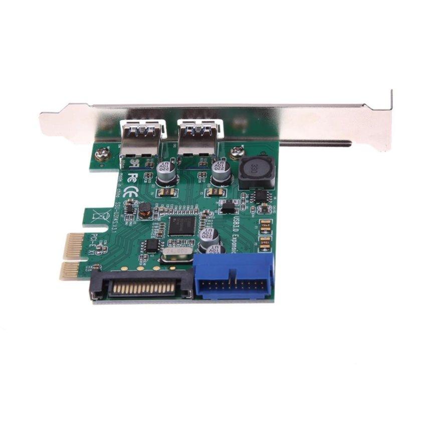 Baru Port Paralel DB25 LPT Printer Ke Pci-e Express Kartu Konverter Adaptor Win7-. Source · Hình ảnh thu nhỏ 4 Port USB 3.0 PCI-Express X1 Card (2 External