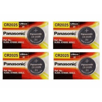 4 viên Pin CR2025 Panasonic 3V