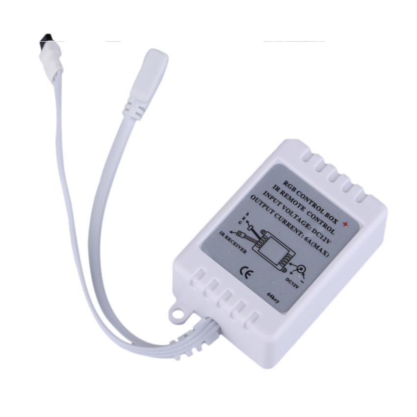 Hình ảnh 44 Key IR Remote Controller DC 12V for RGB 5050 SMD LED Strips Wireless (Intl)