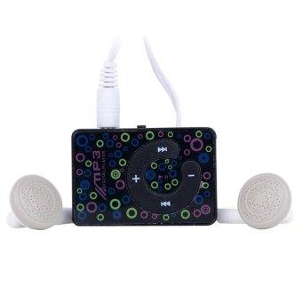 8 GB Mini Clip USB MP3 Music Media Player With Micro TF/SD card -intl