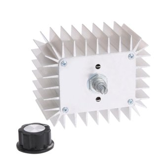 AC 220V 5,000W SCR Voltage Regulator Speed Temperature ControllerDimmer - intl