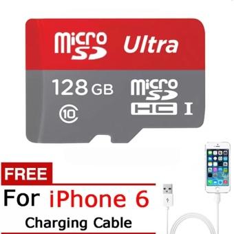 Activity price128G Memory Card Micro SD SDHC SDXC TF80M Grade EVO+Class 10 Micro SD C10 UHS TF Trans Flash Microsd+Free 2 in 1 USBFlash Cable - intl