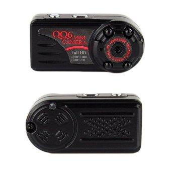 Allwin QQ6 Mini Full HD 1080P Digital Car Video Recorder ThumbMetalBlack Camera - intl