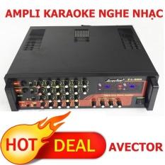 Ampli karaoke nghe nhạc AVETOR 8800 dành cho dàn karaoke gia đình
