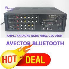 Cửa hàng bán Ampli karaoke nghe nhạc gia đình BLUETOOTH AVECTOR 8000 karaoke cực hay