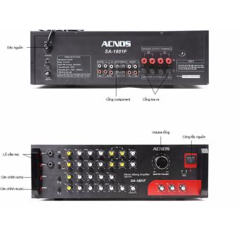 Amply karaoke Acnos SA-1801F (Đen)