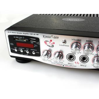 Amply Karaoke Kinter 009 12V Điều khiển từ xa