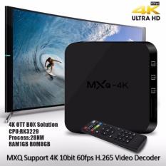 Giá Sốc Android Box TV – MXQ 4K mới nhất 2017 _ Nâng cấp TV thường thành Smart TV  sieuthihangcongnghe