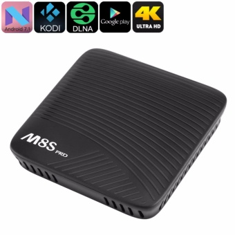 Android TV Box M8S PRO RAM 3GB ROM 16GB ANDROID 7.1 Cao nhất hiệnnay