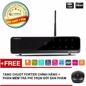 Android TV smart box Himedia Q10 Pro (Đen)