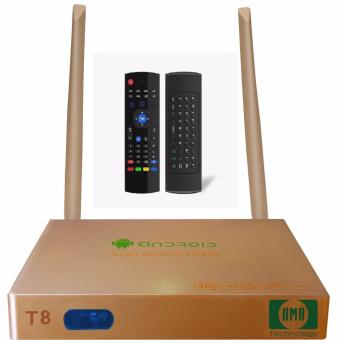 Android TV Smart Box HP Technology T8 kèm Chuột bay KM800