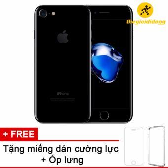 Apple iPhone 7 128GB Đen - Hàng nhập khẩu + miếng dán cường lực + ốp lưng