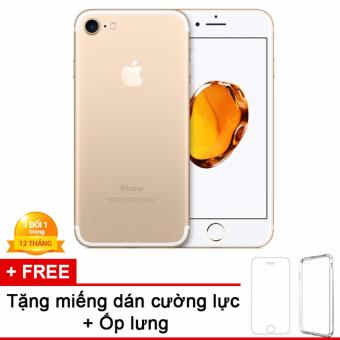 Apple iPhone 7 32GB Vàng Gold - Hàng nhập khẩu + miếng dán cường lực + ốp lưng