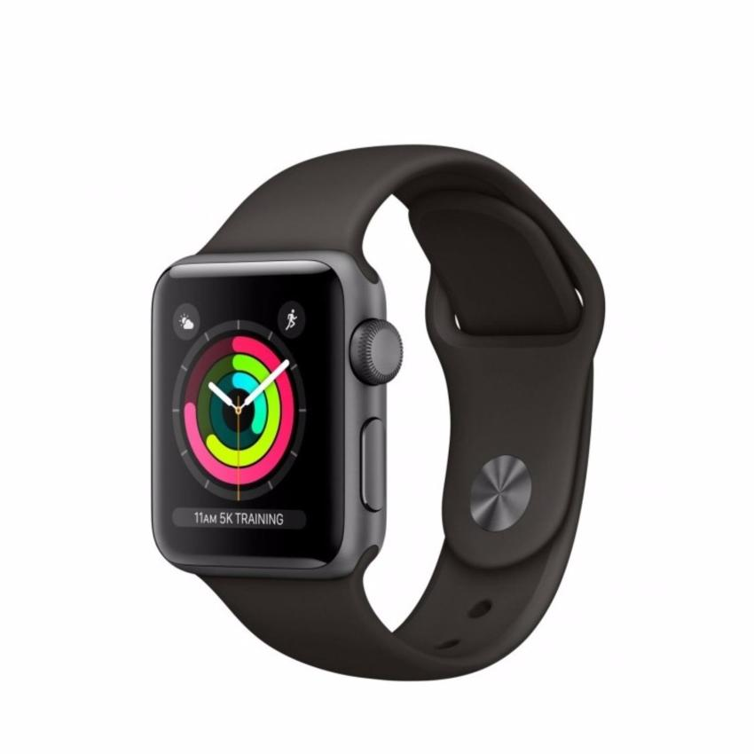 apple watch series 3 42mm space gray aluminum case with. Black Bedroom Furniture Sets. Home Design Ideas